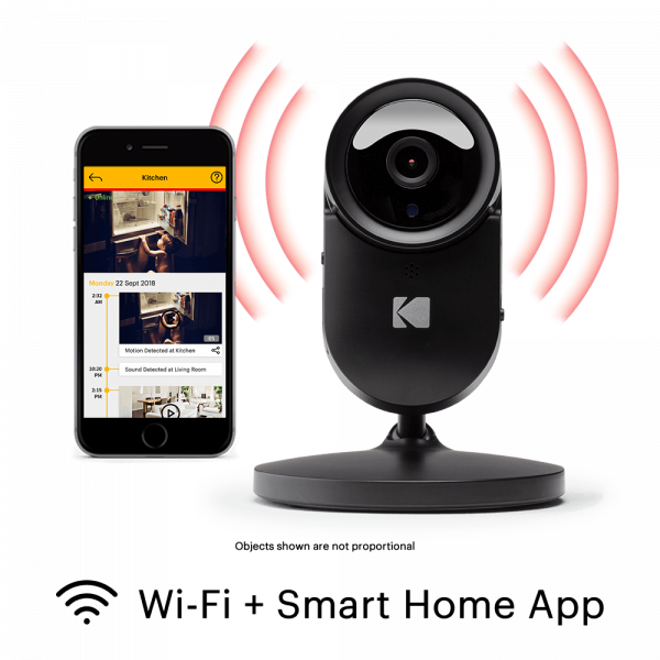 KODAK CHERISH F680 Home Security Camera