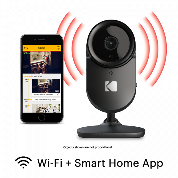 KODAK CHERISH F670 Home Security Camera