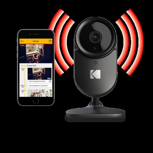KODAK CHERISH F670 Home-Überwachungskamera