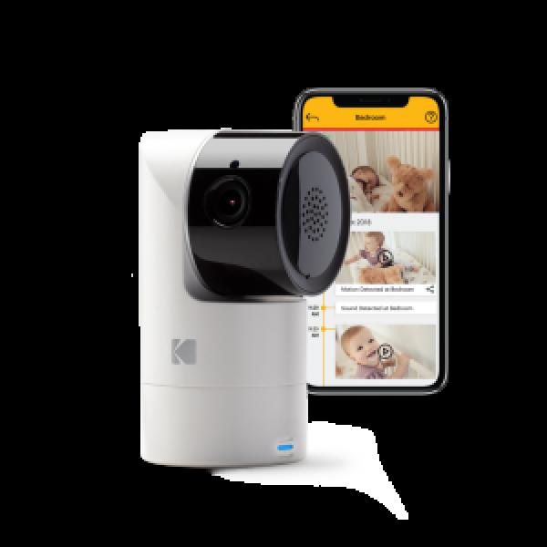 Caméra pour bébé KODAK CHERISH C125 avec composant additionnel intelligent